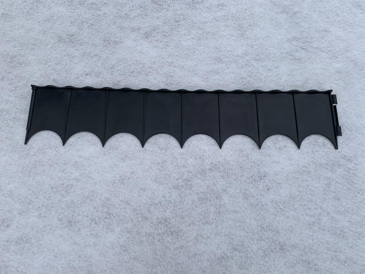 Plastikāta barjera 60 cm x 12 cm
