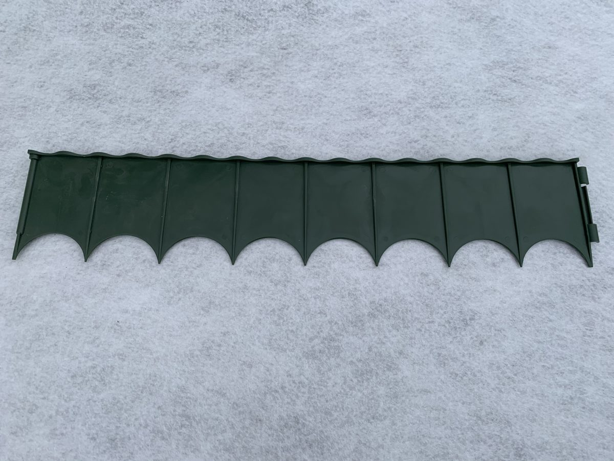 Пластиковая перегородка 60 см х 12 см