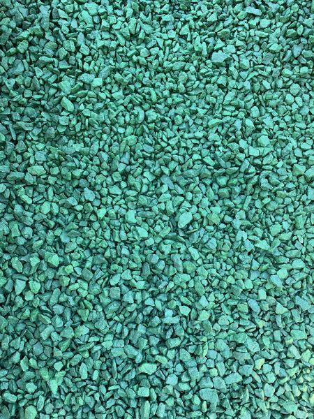 Zaļas granīta šķembas 10 kg